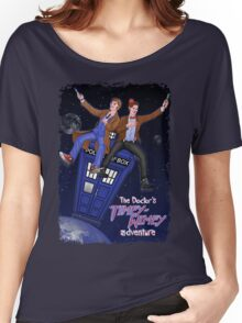THE DOCTOR'S TIMEY-WIMEY ADVENTURE  (full cover) Women's Relaxed Fit T-Shirt