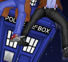 THE DOCTOR'S TIMEY-WIMEY ADVENTURE  (full cover) Sticker