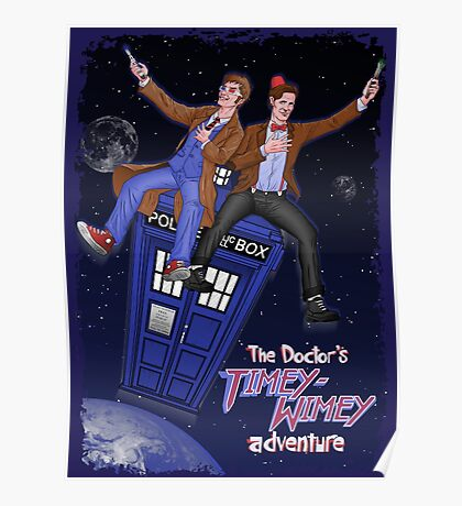 THE DOCTOR'S TIMEY-WIMEY ADVENTURE  (full cover) Poster