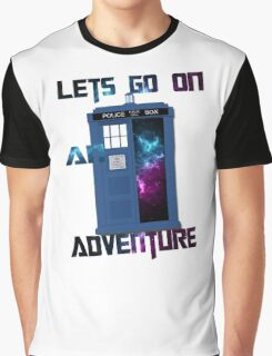 TARDIS-Let's go on an adventure #2 Graphic T-Shirt
