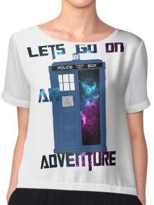 TARDIS-Let's go on an adventure #2 Chiffon Top
