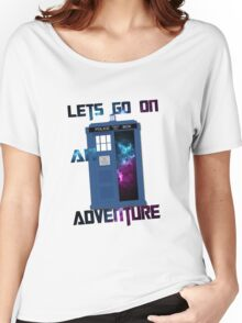 TARDIS-Let's go on an adventure #2 Women's Relaxed Fit T-Shirt