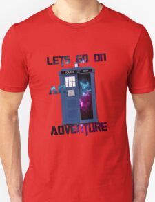 TARDIS-Let's go on an adventure #2 Unisex T-Shirt
