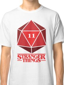 Stranger Things Dice Eleven Classic T-Shirt