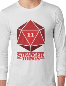 Stranger Things Dice Eleven Long Sleeve T-Shirt
