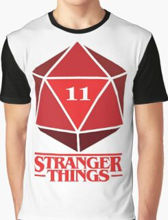 Stranger Things Dice Eleven Graphic T-Shirt
