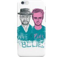 white&pink iPhone Case/Skin