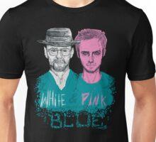 white&pink Unisex T-Shirt