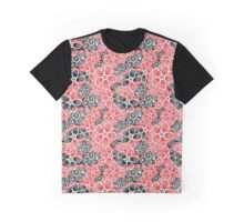 Graphic pattern and abstraction flowers Graphic T-Shirt