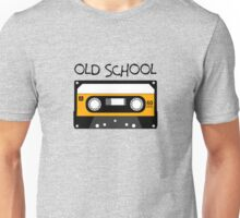 Old School Music Tape Compact Cassette Unisex T-Shirt