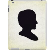 Ada Lovelace Silhouette  iPad Case/Skin