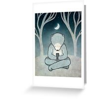 Midnite Greeting Card