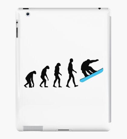 Evolution Snowboard iPad Case/Skin