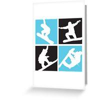 Snowboard  Greeting Card