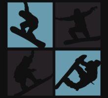 Snowboard  One Piece - Short Sleeve