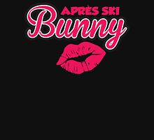 Apres Ski Bunny Womens Fitted T-Shirt