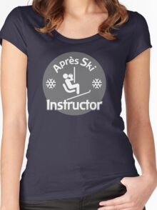 Après Ski Instructor Women's Fitted Scoop T-Shirt