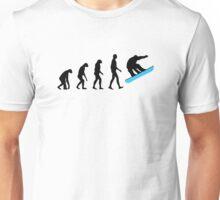 Evolution Snowboard Unisex T-Shirt
