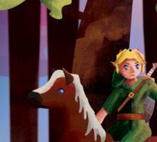Zelda: Link & Epona Sticker