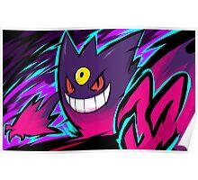 Mega Gengar | Nightmare Poster