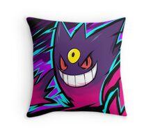 Mega Gengar   Nightmare Throw Pillow