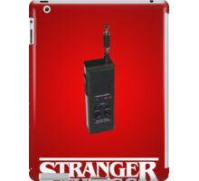 Stranger Things - Over and Out iPad Case/Skin