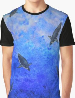 Water Penguins Graphic T-Shirt