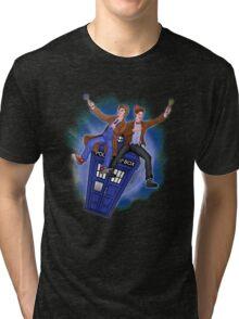 THE DOCTOR'S TIMEY-WIMEY ADVENTURE  Tri-blend T-Shirt
