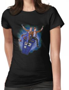 THE DOCTOR'S TIMEY-WIMEY ADVENTURE  Womens Fitted T-Shirt