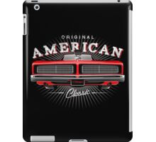 CLASSIC DODGE CHARGER MOPAR MUSCLE CAR | RED iPad Case/Skin