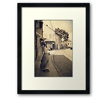 Dance in the old City Framed Print
