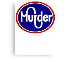 MURDER KROGER  Canvas Print