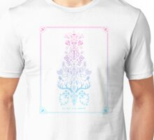 La Vie + La Mort: Rose Quartz & Serenity Ombré Unisex T-Shirt