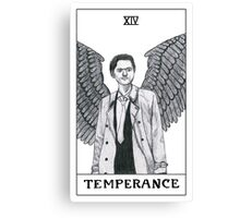 Temperance ~ Castiel Tarot Card Canvas Print