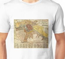 Vintage Map of Berlin Germany (1789) Unisex T-Shirt