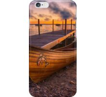 Twilight Canoe iPhone Case/Skin