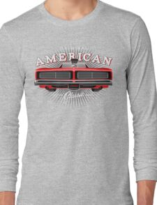 CLASSIC DODGE CHARGER MOPAR MUSCLE CAR | RED Long Sleeve T-Shirt