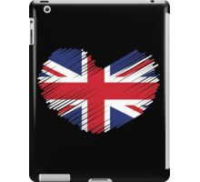 Great Britain Flag Heart iPad Case/Skin