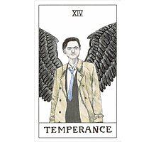 Temperance ~ Castiel Tarot Card ~ Watercolour Photographic Print