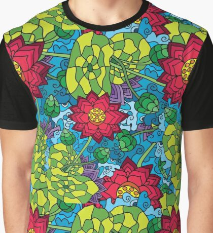 Psychedelic LSD Trip Ornament 0009 Graphic T-Shirt