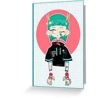 Light Gore Child Greeting Card