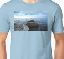 3 Boulders Leading into Water Unisex T-Shirt