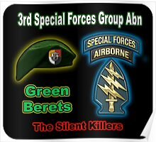 3rd Special Forces Group (Abn) Poster