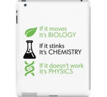Biology - Chemistry - Physics iPad Case/Skin