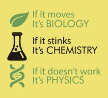 Biology - Chemistry - Physics Kids Clothes