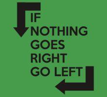 If nothing goes right, go left by nektarinchen