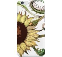 Traditional Sunflower iPhone Case/Skin