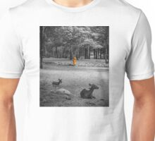 Monk doing daily cleaning routine  Unisex T-Shirt