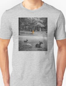 Monk doing daily cleaning routine  T-Shirt