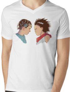 Showdown Mens V-Neck T-Shirt